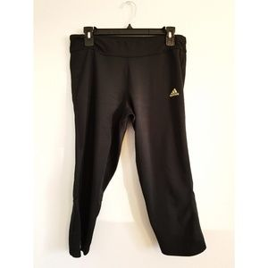 Adidas climate running cropped leggings